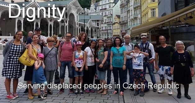 Serving refugees in Czech Republic